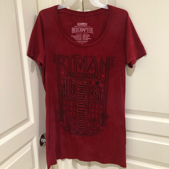 red chapter Tops - Red chapter clothing red T-shirt size 2xl